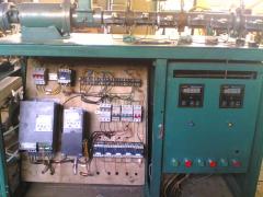 Экструдер для ПВХ-нанесение пвх на проволоку; для получения искусственного ротанга и нити АВС.