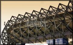 Стадионы открытые. Изготовление и монтаж