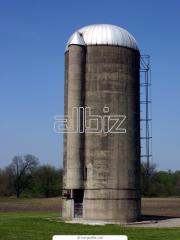 Зернохранилища. Производство и монтаж