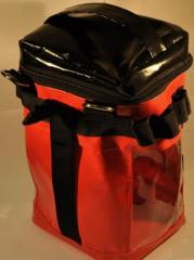 Bag for work at height, Bags of a promalp, the Bag