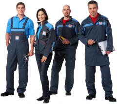 Overalls for car service
