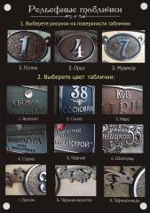 Address plates in Kharkiv and the Kharkiv Region.