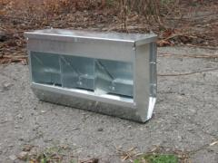 Bunker feeder for rabbits of BK3-3