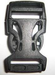 Фастекс 2 см (скелет), черного цвета