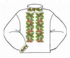 Заготовка мужской сорочки-вышиванки ВМБ-001