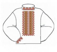 Заготовка мужской сорочки-вышиванки ВМЛ-003