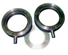 Diaphragms for measurement of expenses of liquids