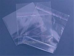 Пакет полипропиленвий із клапаном і клейкою