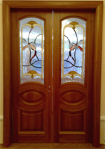 Doors interroom with glass, Doors Kiev, Doors,