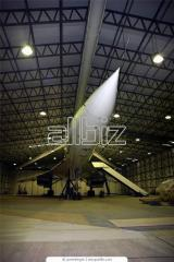 Aircraft hangars for storage, repair and