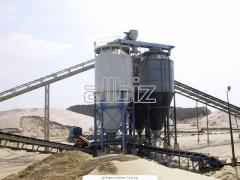 Plants for the production of concrete. Manufacture