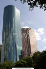 Buildings high-rise. Manufacture of metal