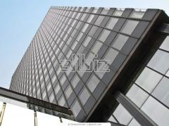 Office buildings. Manufacture of metal structures.