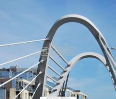 Metal structures for bridges