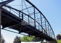 Foot bridges. Manufacture and installation of