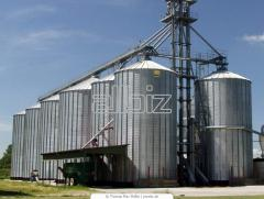 Metal silos. Manufacture and installation of steel