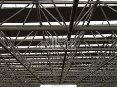 Long girder trusses
