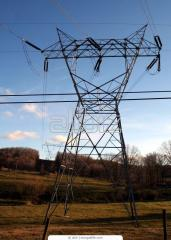Pylons. Manufacture and installation of steel