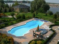 """Construction of pools """"Kharkiv and"""