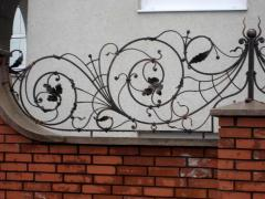 Fish-traps on a fence, Shod decorative products