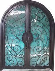 Изделия кованые Двери, изготовление и монтаж.