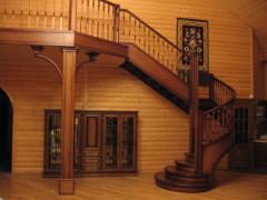 Лестницы деревянные, Лестницы деревянные на заказ,