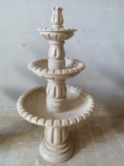 Fontana Fontana from granite and marble
