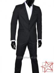 The suit is man's classical