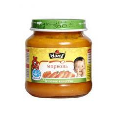 'Mashed potatoes - carrots (125 g)' Hamé