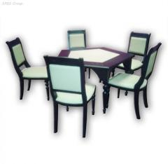 Card-table, tables for a casino, the Equipment for