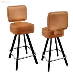 Chairs with rotary and returnable the N01-04