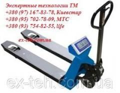 Vesy-rokla Certus Pallet CHBp-2000-500