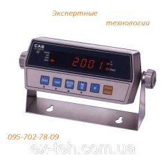 The weight indicator to platform scales CI-2001A