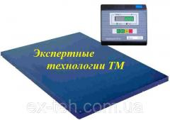 Platform electronic scales of BH-1000-4 to 1000 kg