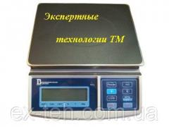 Calculating electronic scales 15VP1, to 15 kg, the