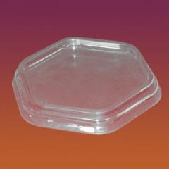 Крышка круглая к пластиковой упаковке Код 4800