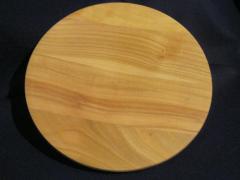 Деревянная тарелка 280 мм, ольха