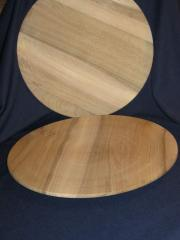 Wooden plate of 300 mm