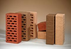 Brick construction slot-hole double.