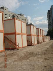 Бытовки - контейнеры сборные для строителей