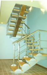 Металлоконструкции ограждающие. Лестницы