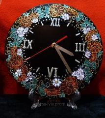 Wall clock of handwork