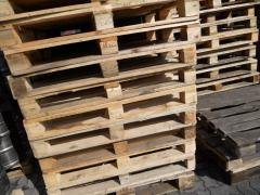 The pallets facilitated b