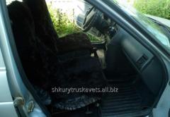 Автомобильный чехол, тёмно серый, 323