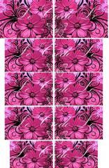 Slider - design for nails No. 243
