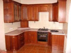 Кухня из дерева под заказ Композиция 107