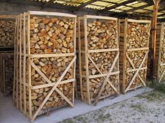 Firewood of ash
