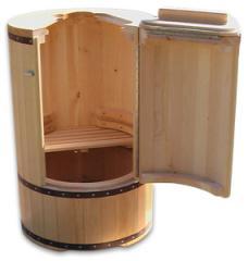 Phytobarrel (round pass - a sauna)