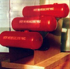 Automobile gas cylinders of BGA-55, 65, 72