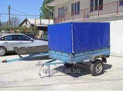 Trailers, with awning